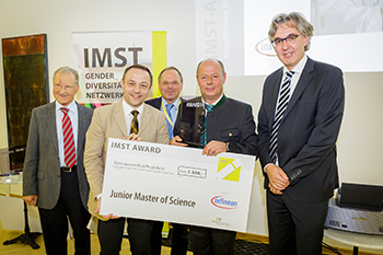 Gewinner Junior Master of Science